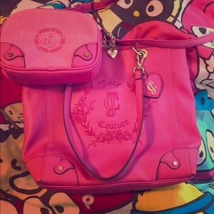Juicy Couture Pink purse bundle 2 purses